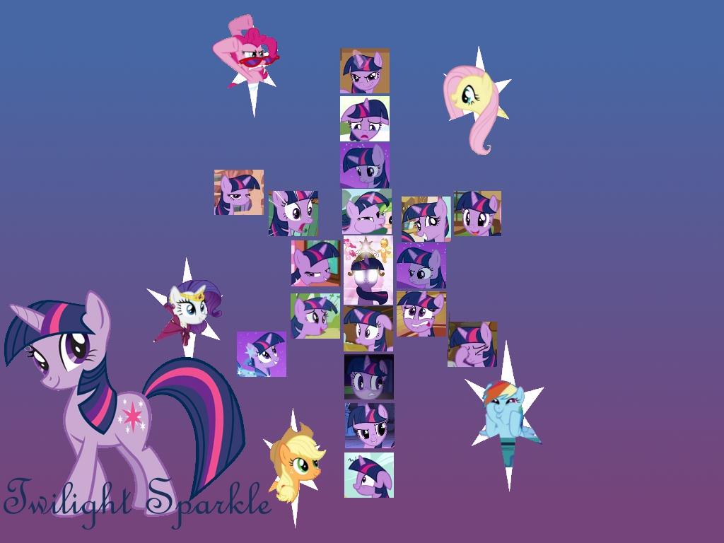 MLP FiM Twilight Sparkle Wallpaper V2